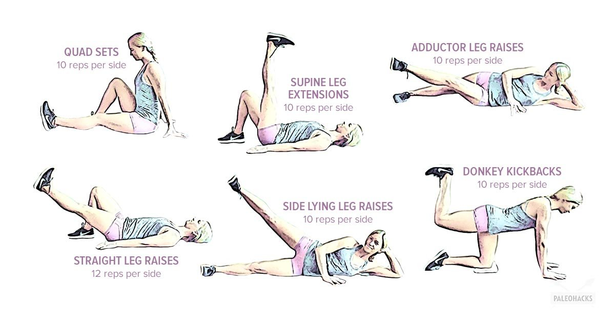 10 Easy Exercises to Relieve Knee Pain