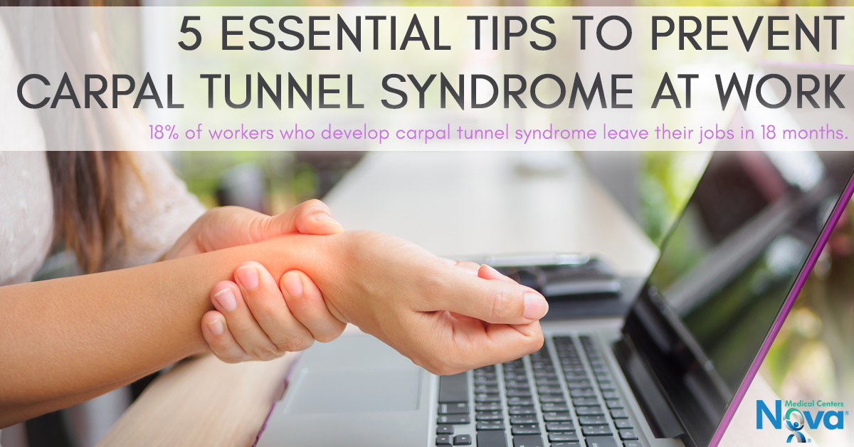 5 Essential Tips to Prevent Carpal Tunnel Syndrome at Work ...
