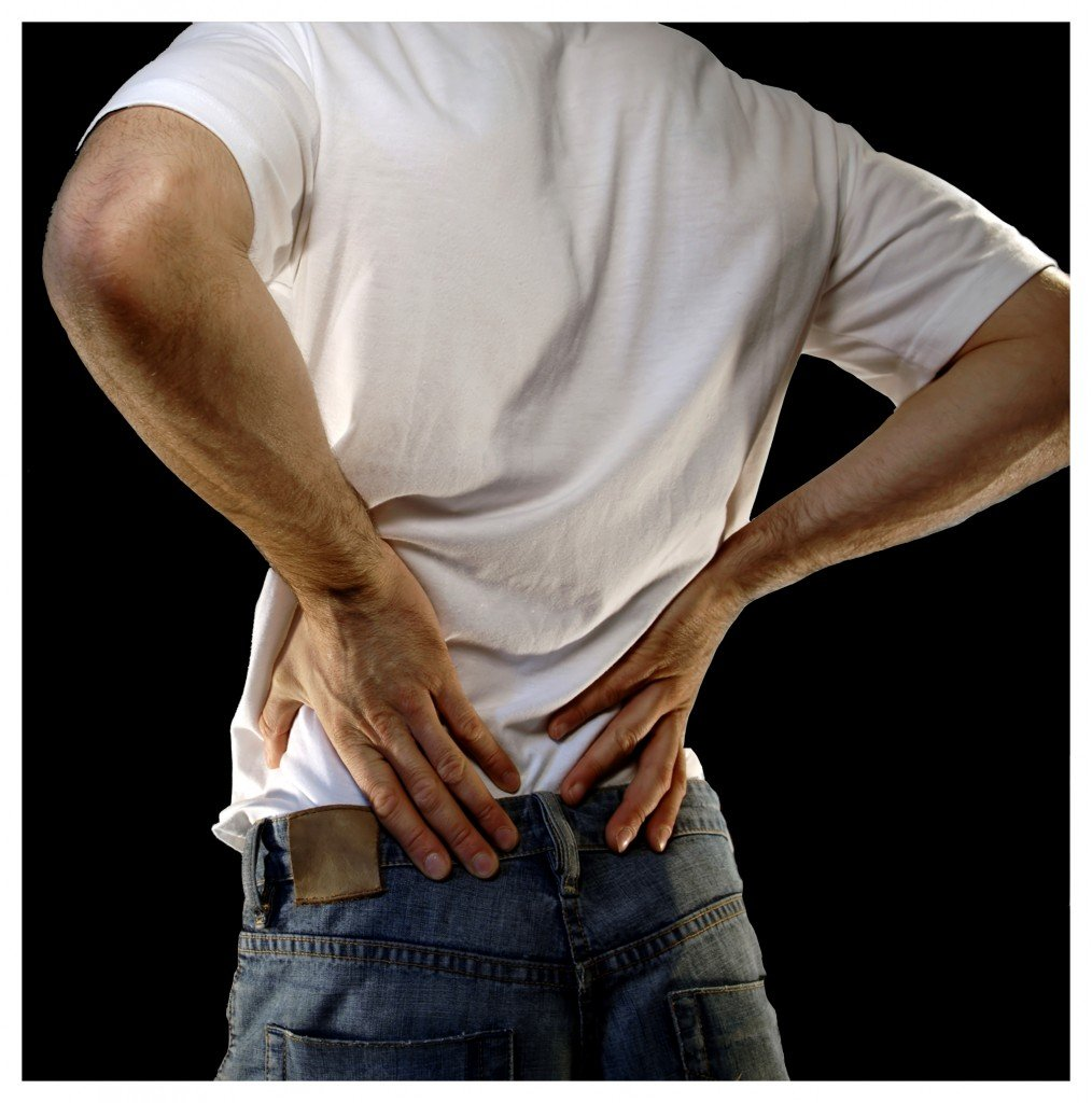 can back pain cause abdominal pain