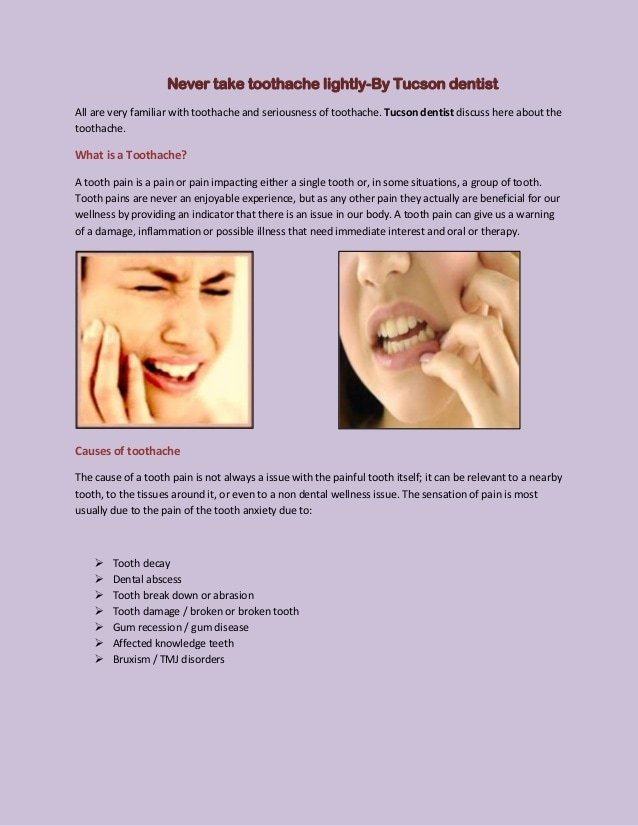 Could A Toothache Cause Neck Pain