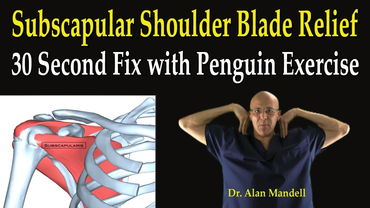 Exercises To Relieve Shoulder Blade Pain