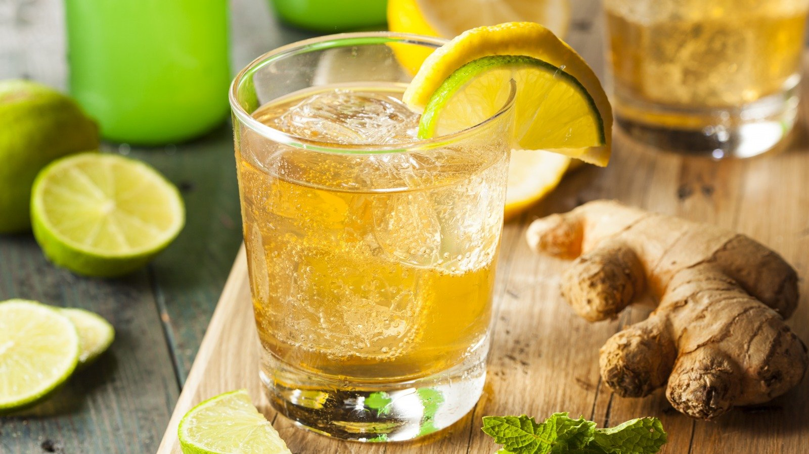 Fact Or Fiction: Ginger Ale Will Calm An Upset Stomach