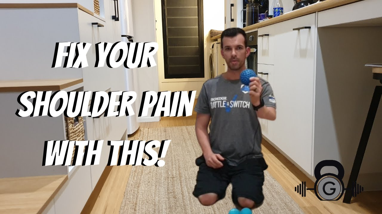 Fix Your Shoulder Pain With This!