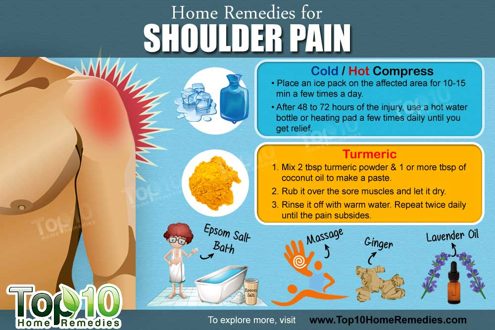 home remedies for shoulder pain top 10 home remedies