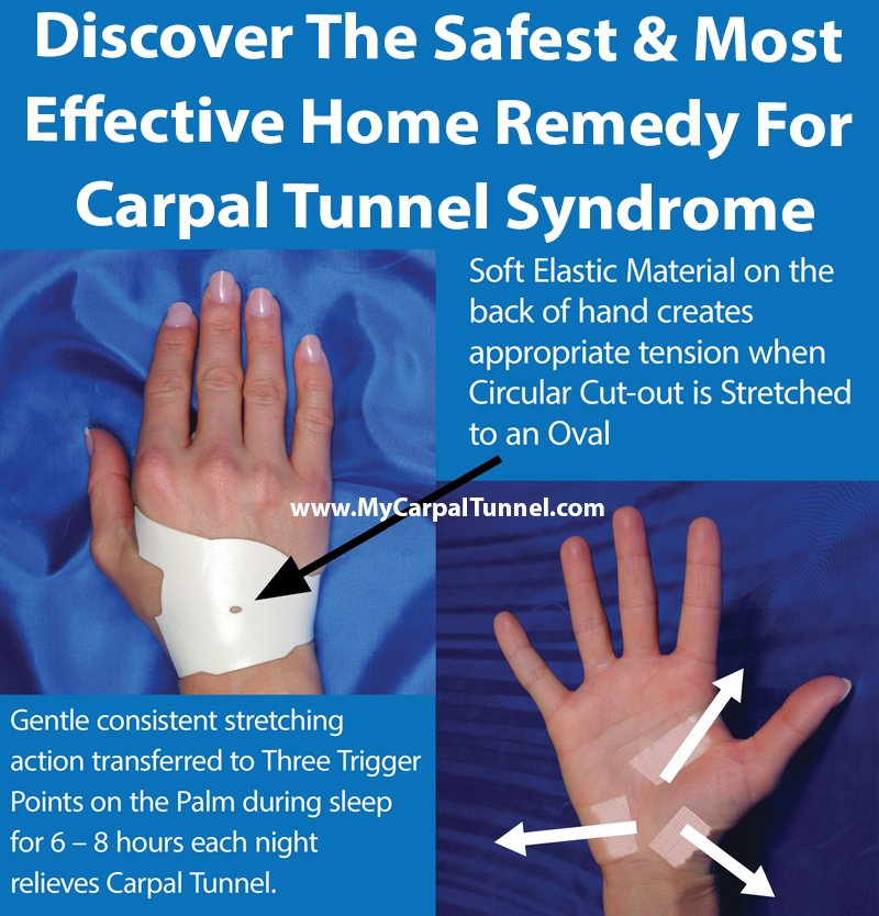 Home Remedy For Carpal Tunnel Syndrome