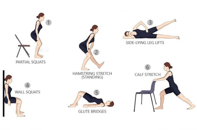 how to get rid of knee pain naturally