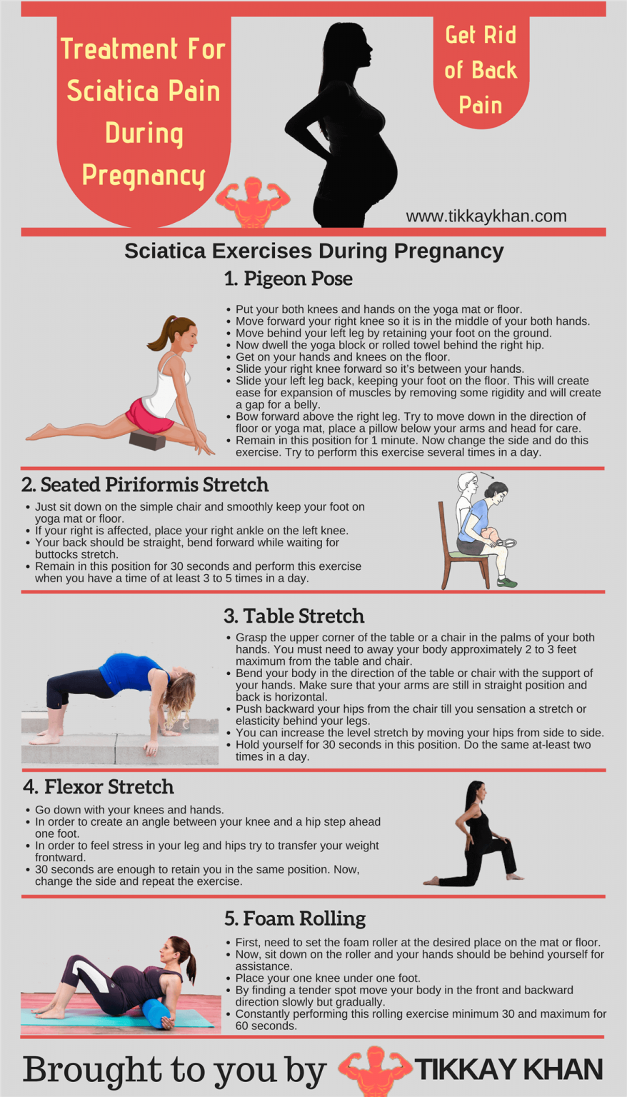 How To Help With Sciatic Nerve Pain While Pregnant