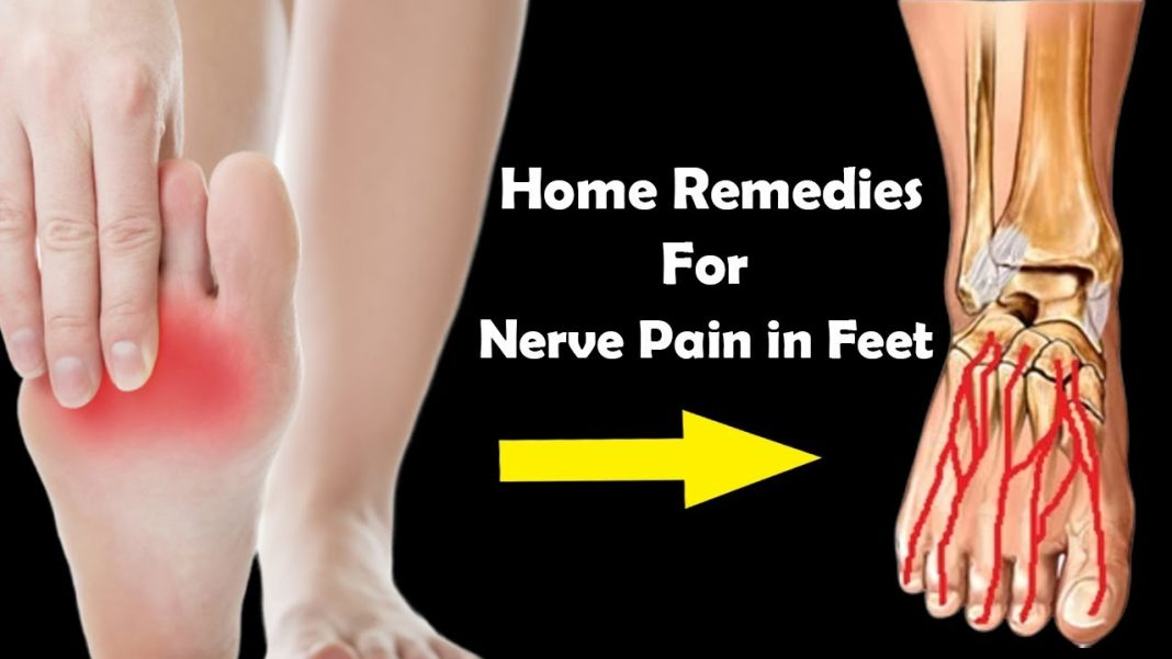 how to stop nerve pain in feet and legs 8 home remedies