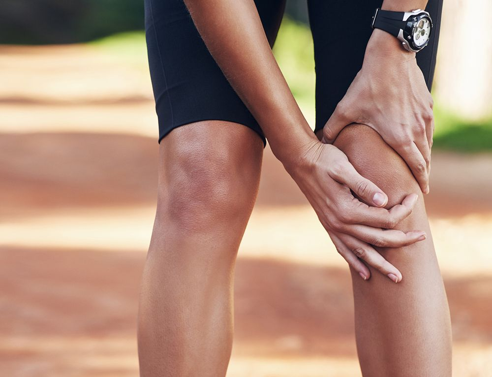 Interior Knee Pain And Swelling