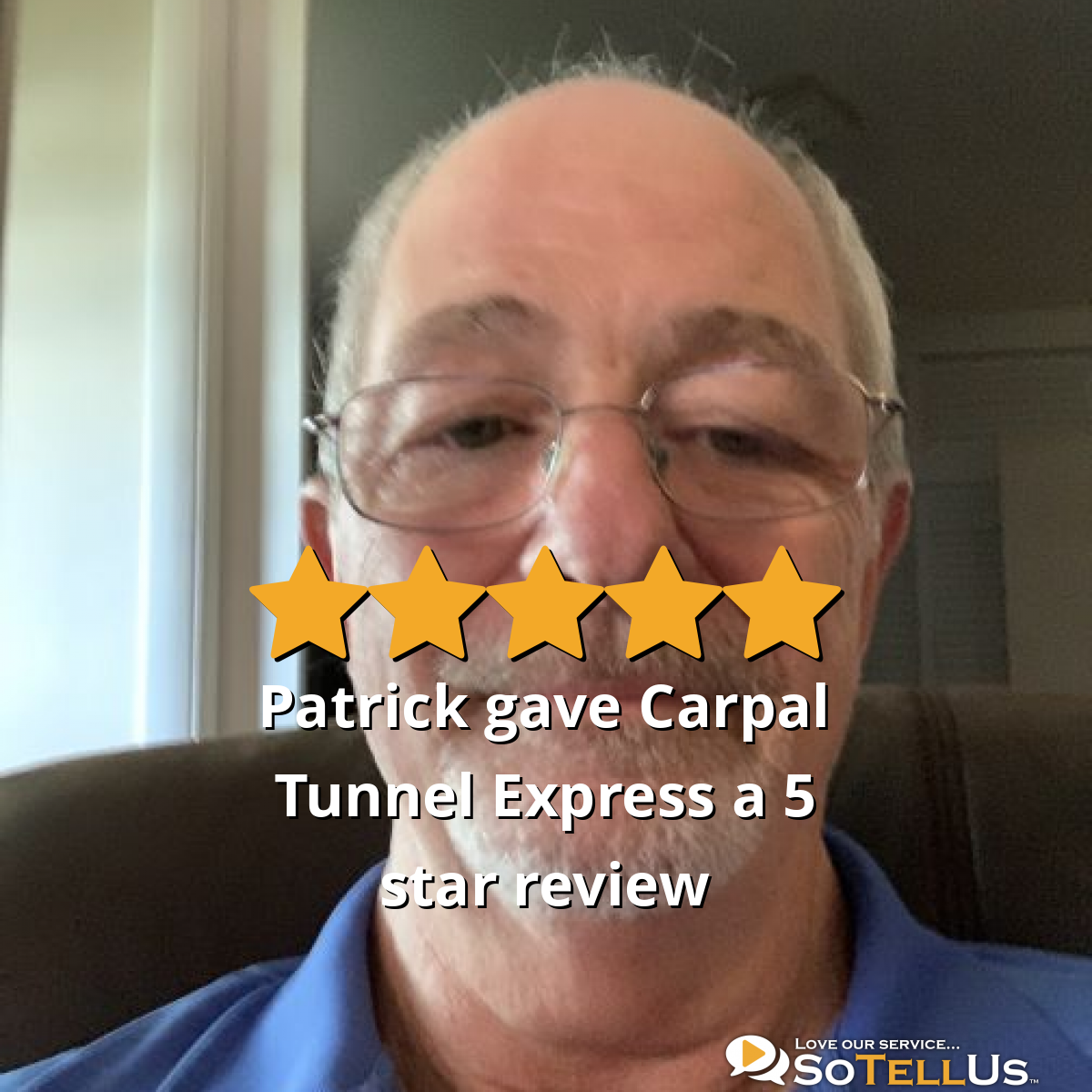Patrick D gave Carpal Tunnel Express a 5 star review ...