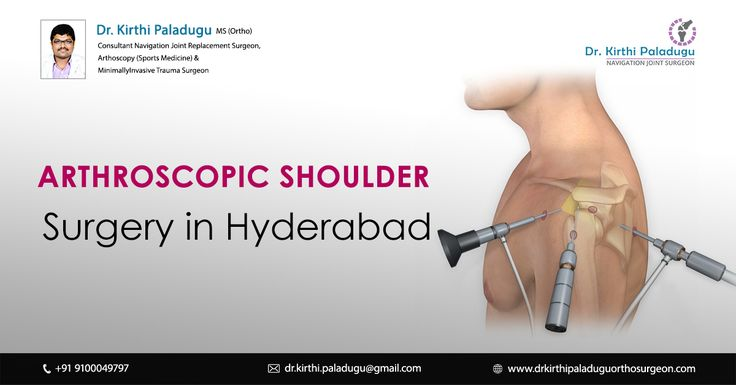 Pin on Shoulder replacement surgery in Hyderabad
