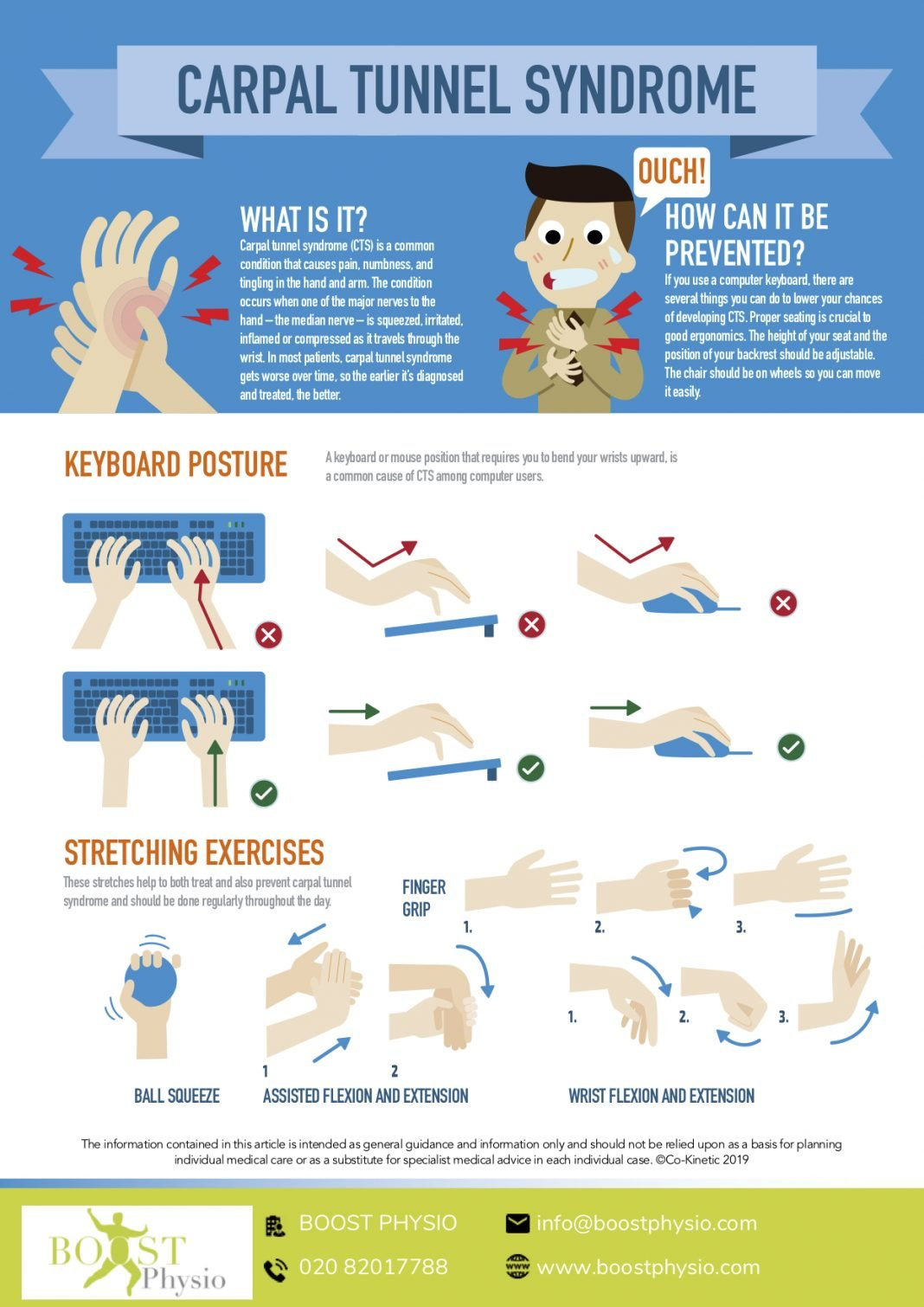 prevent carpal tunnel syndrome
