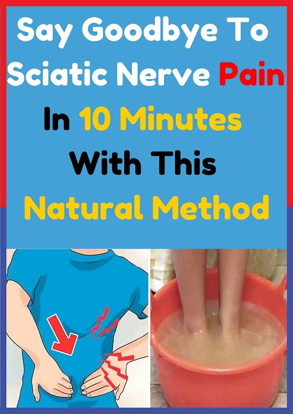 Say Goodbye To Sciatic Nerve Pain In 10 Minutes With This ...
