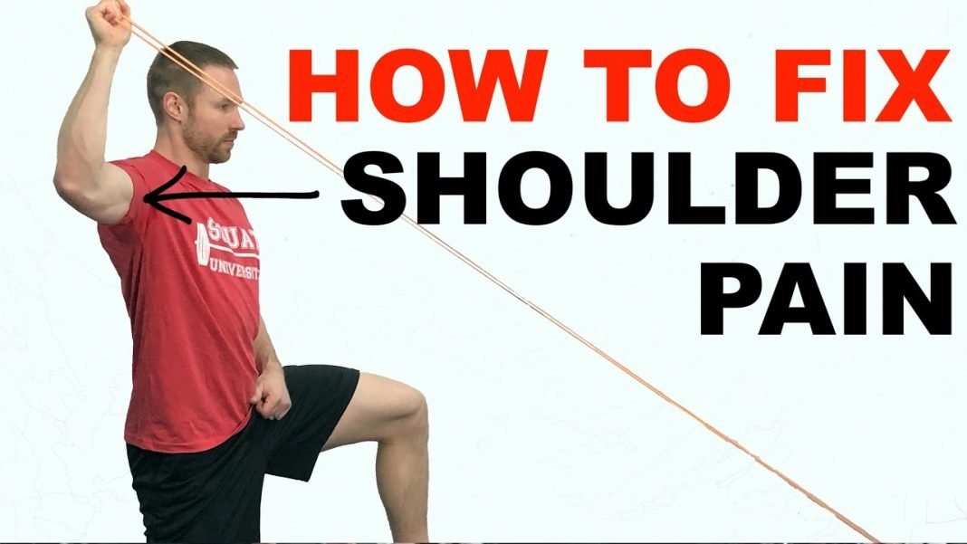 the best way to fix shoulder pain youtube