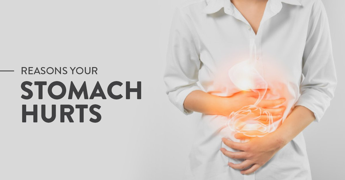What are the causes of stomach ache after eating food ...