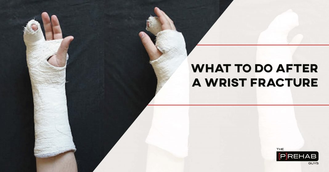 what to do after a wrist fracture with exercises 2