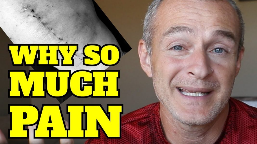 why is a total knee replacement so painful audio fixed